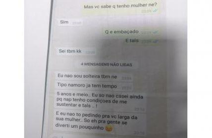 Traída, mulher espalha conversa do marido no trabalho da amante